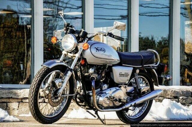 1975 Norton Commando 850 Classics Motorcycle For Sale Via Rocker Rocker Co In 2020 Norton Commando Motorcycles For Sale Brat Bike