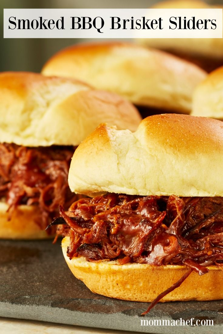 Prepare to impress with these easy and delicious Smoked BBQ Brisket Sliders. This dish is sure to be a hit with your family and guests.