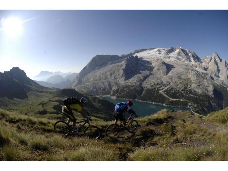 Bike-Marmolada, Dolomiti