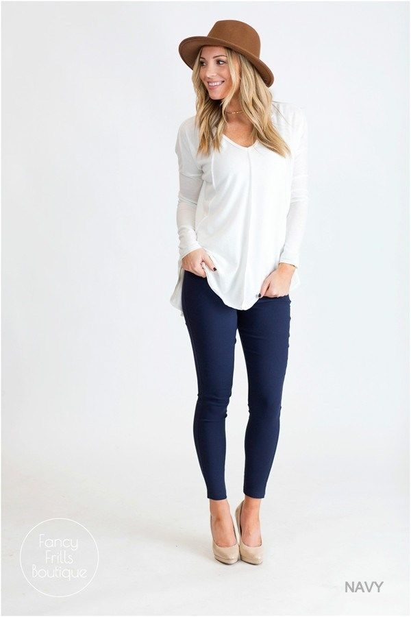 Colored skinny jeans, a fall must have! You can't wrong no matter which color you choose!