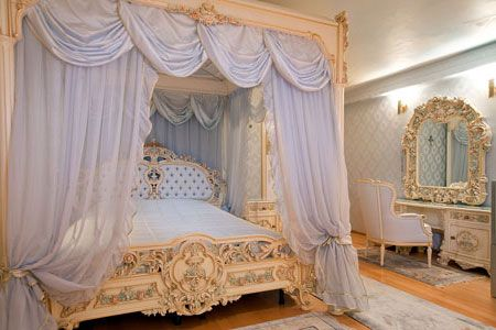 Спальня в стиле барокко фото | СТИЛЬ БАРОККО