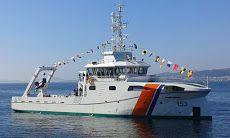 El ARC Roncador, nuevo buque hidrográfico de la Armada de Colombia, realiza sus pruebas de mar