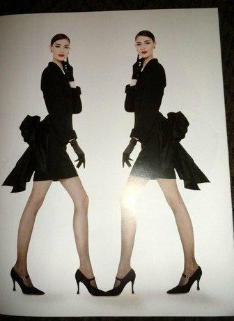 Vintage Moschino at Neiman Marcus Catalog 1995 Vogue Model Bag Scarf Suit Dress | eBay