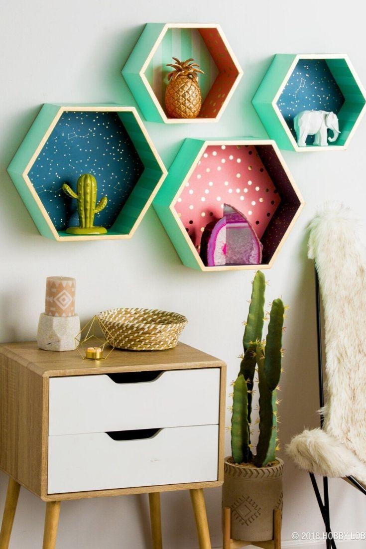 DIY Bedroom Ideas Decorating, Organization, and Wall Art DIY ...
