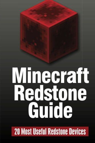Minecraft Redstone Guide: 20 Most Useful Redstone Devices (Volume 2) @ niftywarehouse.com #NiftyWarehouse #Minecraft #Geek #Gaming #VideoGames