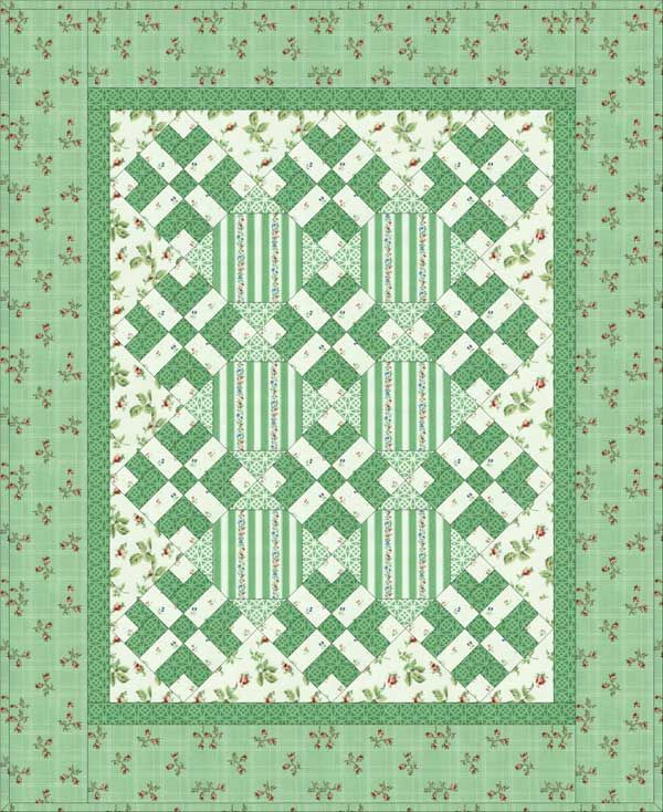 Free Quilt Patterns For Large Prints : Pin by Merry Driesen on Large print quilts Pinterest