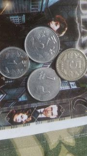 Techno man: 'Indian Rupee falls 4 paise against dollar Today'