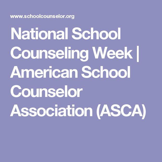National School Counseling Week   American School Counselor Association (ASCA)