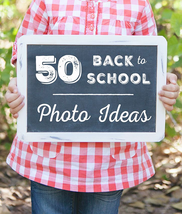 Printable list of Back to School photo ideas and photography prompts to help you document your child's school year in photos