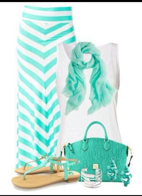 Chevron maxi skirt...I love this!!!!!!!!!!