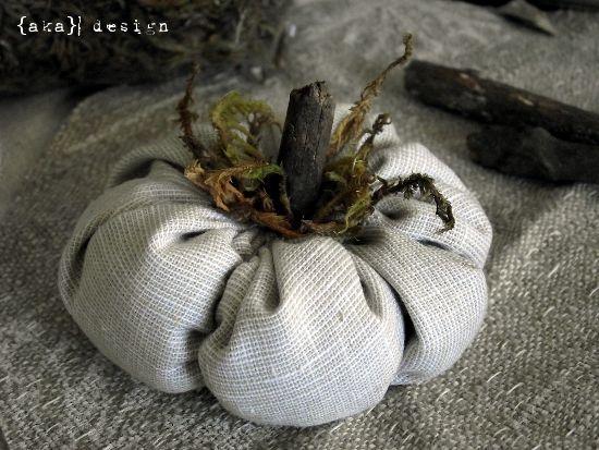 Fall Project #2: Fabric Cinderella Pumpkins - AKA Design