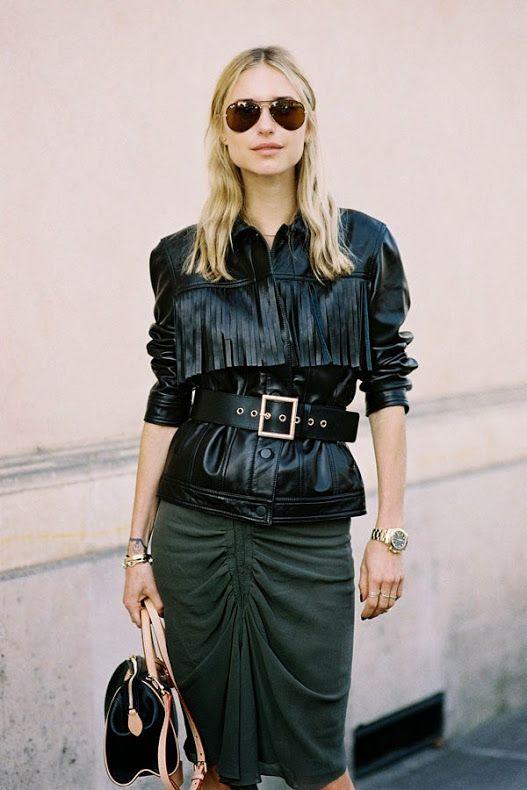 Vanessa Jackman: Paris Fashion Week SS 2015....Pernille