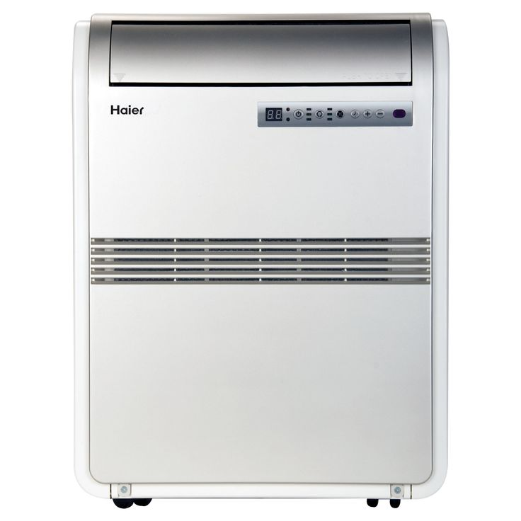Haier - 8000-Btu Portable Air Conditioner, HPRB08XCM-T, White