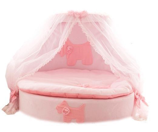 Pink Royal Princess Bed