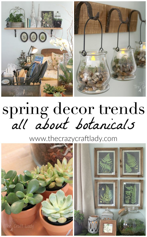My Favorite Spring Decor Trends Spring Home Decordiy