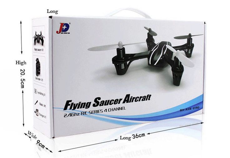 4 Channel RC Quadcopter RTF Remote Control Toy Helicopter Gyro
