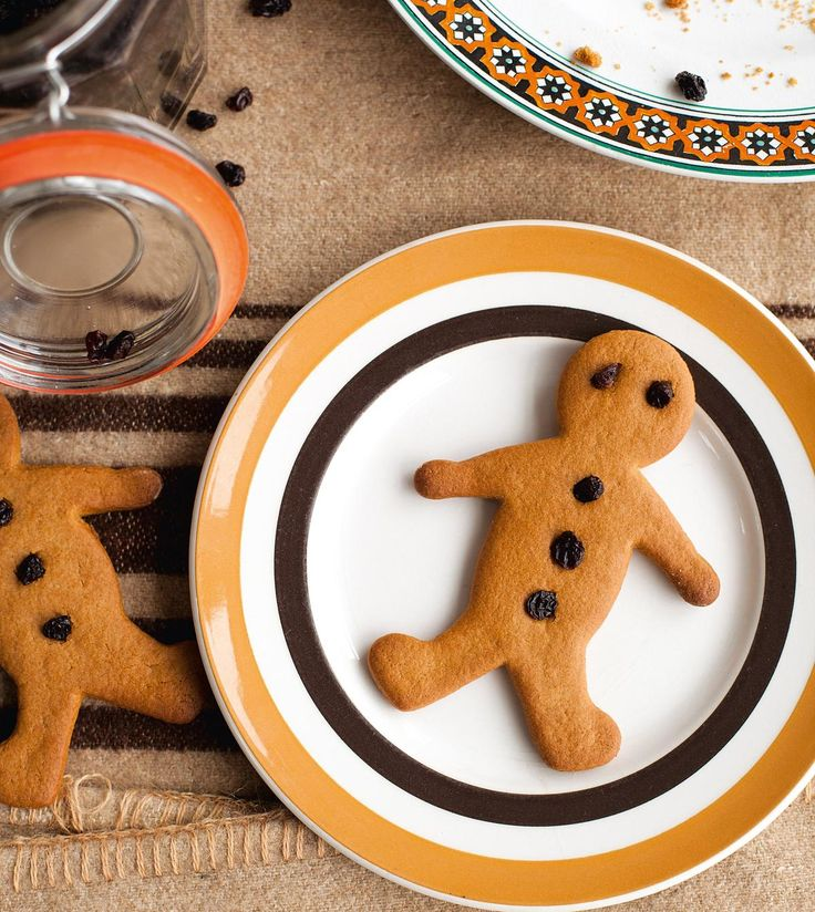 Make your own gingerbread men with this recipe from Miranda Gore-Brown
