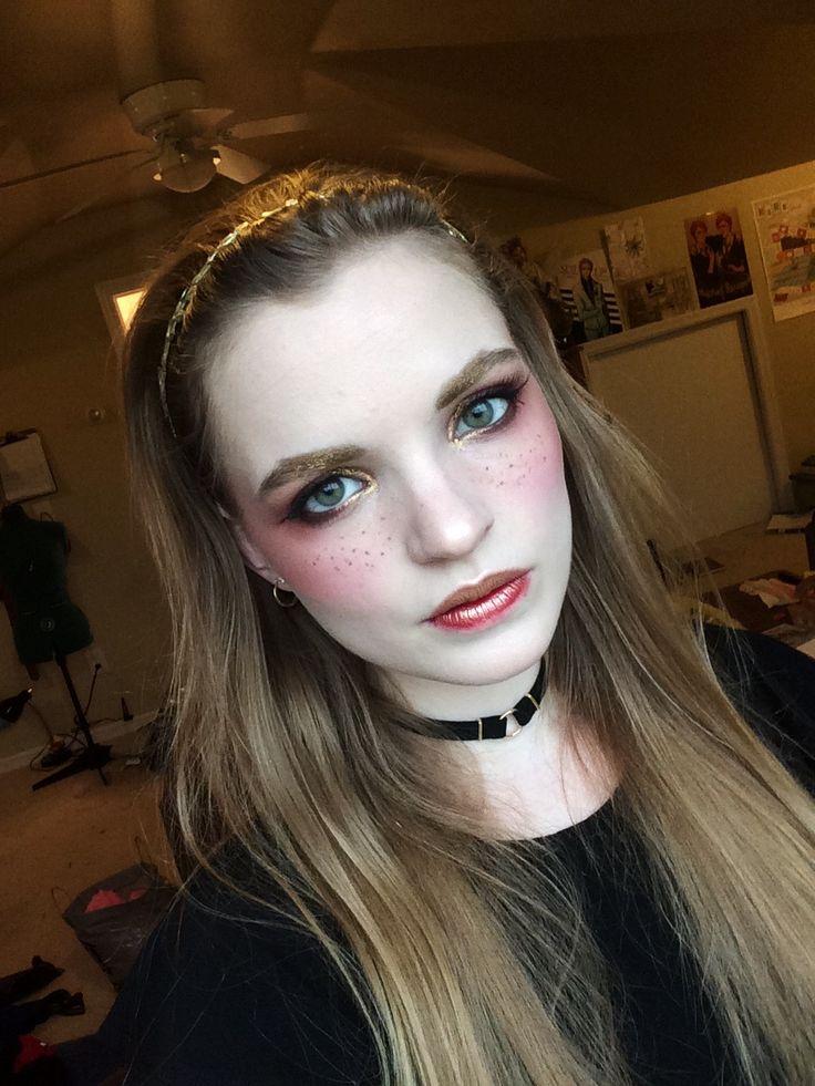 Jumping on the fake freckle bandwagon! MakeupAddiction