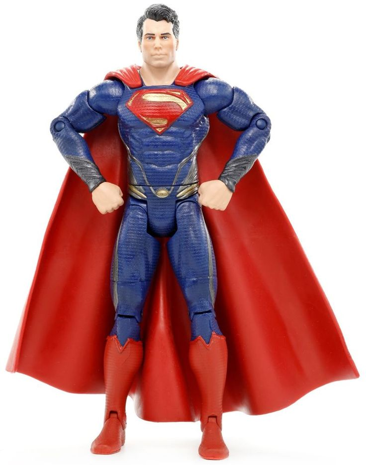 "DC Man of Steel Movie Masters SUPERMAN 6.25"" Action Figure Mattel #Mattel"