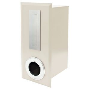 Scope Living Oxford Fence Letterbox Cream