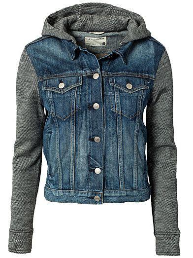 Jean Jacket With Hood - Rag & Bone - Bradford - Jackets And Coats - Clothing - Women - Nelly.com Uk