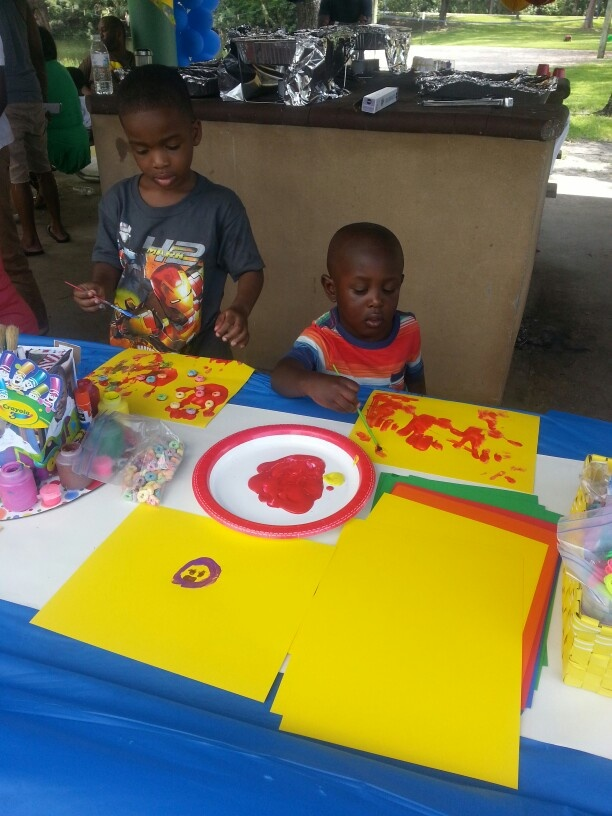 Joseph 3rd crayola birthday party