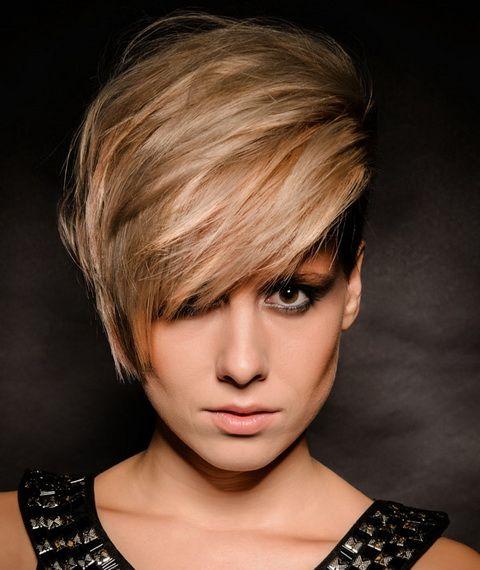 Fryzury krótkie blond 2015