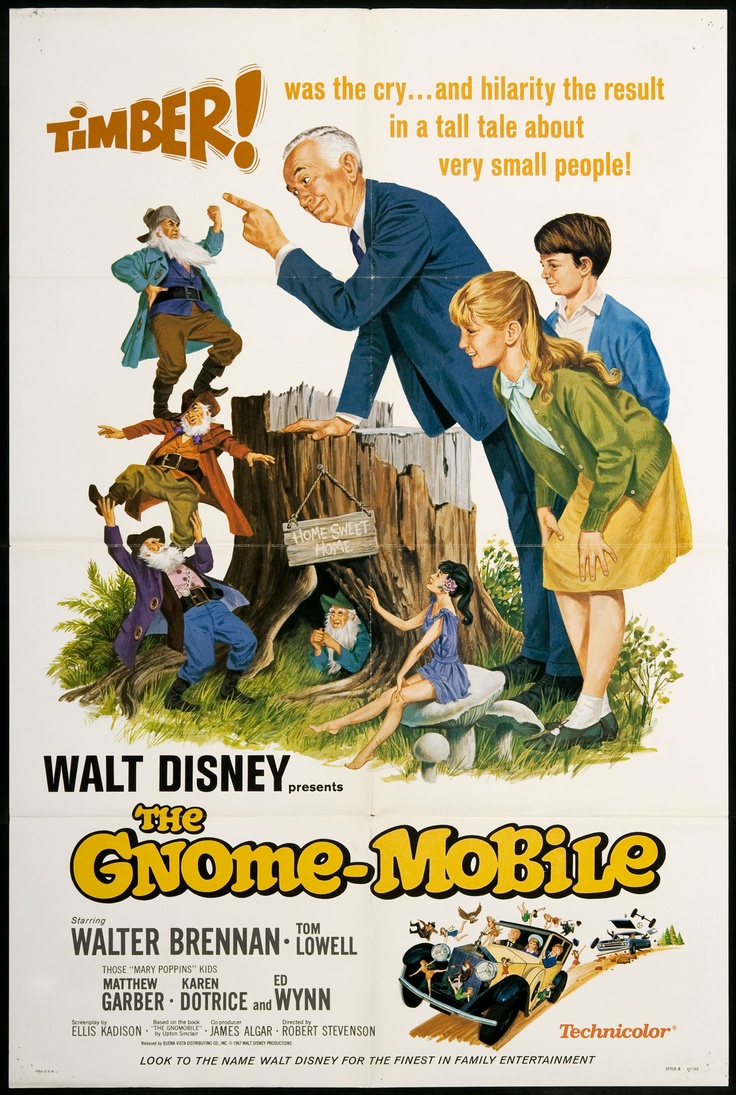 "Another poster for ""The Gnome-Mobile,"" which I loved ..."