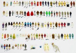 118 VTG 1977-1985 Star Wars Action Figures - some Kenner Baggies & Last 17 POTF