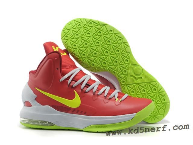 Sale Cheap Nike Zoom KD V 5 Red White Green Basketball Shoes Basketball Shoes  Shop