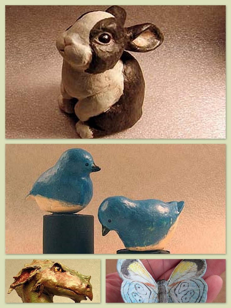 71 best papermache images on pinterest papier mache for Paper mache pulp