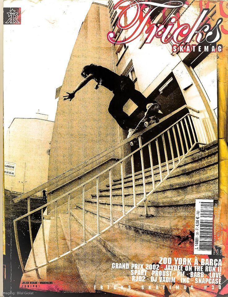 "#onthecoverofthemagazine  ""Wishing well"", baby  'Leust Skateboards' team rider : Julien Deniau (Barcelona, Spain)  Credit : Tricks Skate Mag (_2004)"