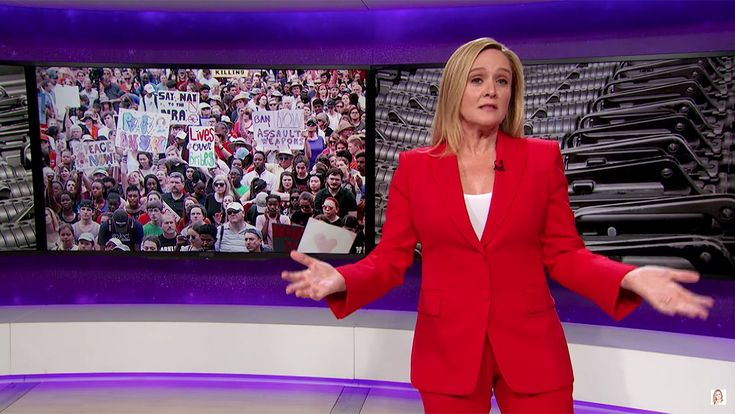 Samantha Bee Calls for NRA Members to Join Scientology