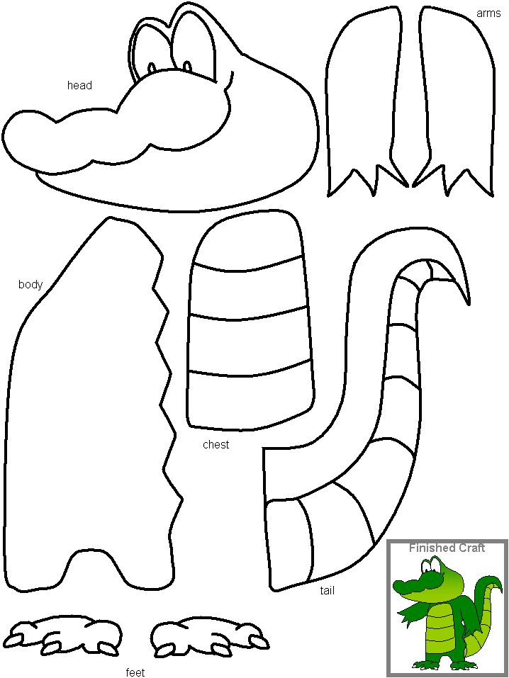 16 best Kids Crafts & Activities from DLTK images on Pinterest ...