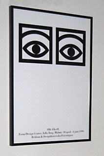Olle Eksell . Cocoa Eyes Poster