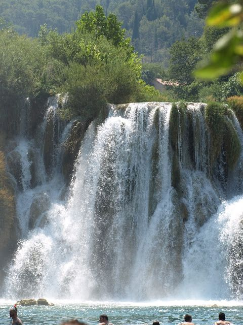 croatia, np krka, holiday