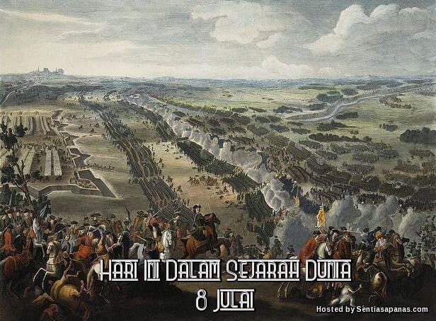 Peristiwa Penting Hari Ini Dalam Sejarah Dunia (8 Julai) http://ift.tt/2tsd5Z6