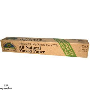 Кулинарный пергамент для выпечки If You Care, All Natural Waxed Paper