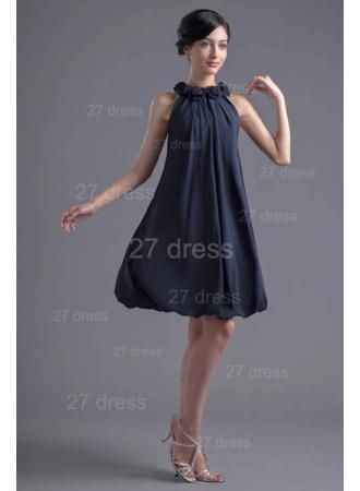 USD$166.00 - Sexy Flowers Short Cocktail Dress Zipper High Quality  - www.27dress.com