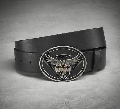 115th Anniversary Belt & Eagle Buckle - 99412-18VM
