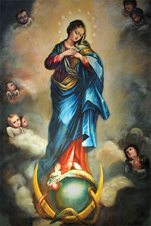 OUR LADY QUEEN AND MOTHER OF THE UNIVERSE