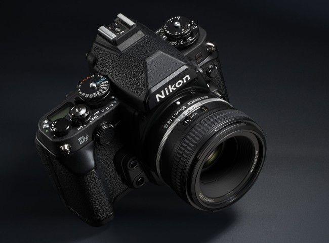 Nikon Df black looks good too.