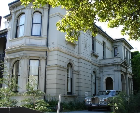 Toorak Road Mansions : Buildings and Architecture - Melbourne, Victorian & Australian Architecture Topics