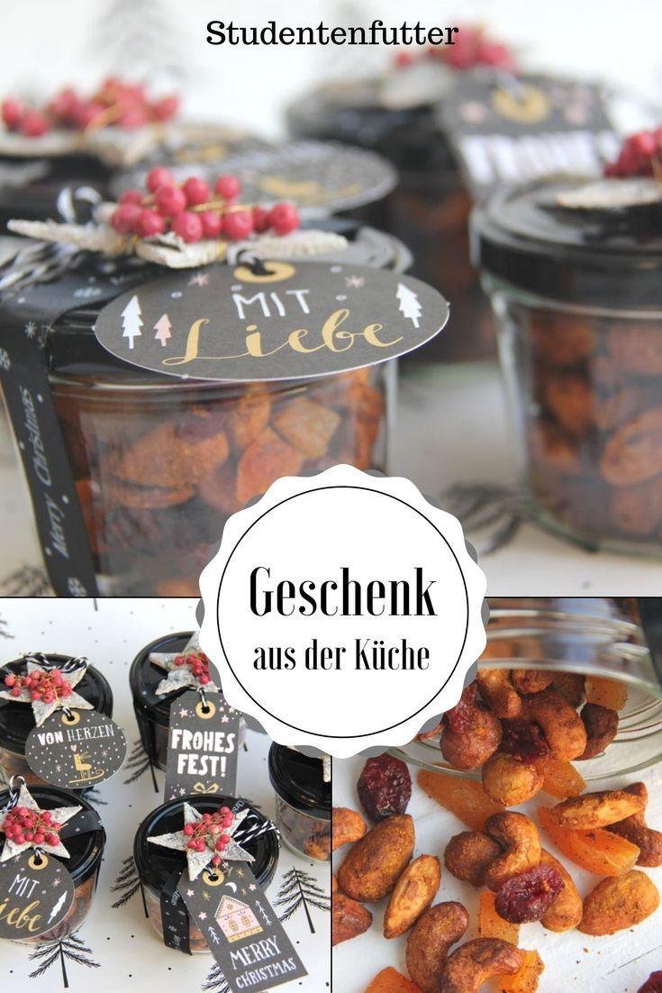 Geschenk aus der Küche - Weihnachtliches Studentenfutter