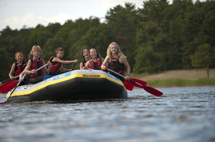Water activiteiten bij het duinmeer van Hee op Terschelling http://www.mooiweerzomerspelen.nl