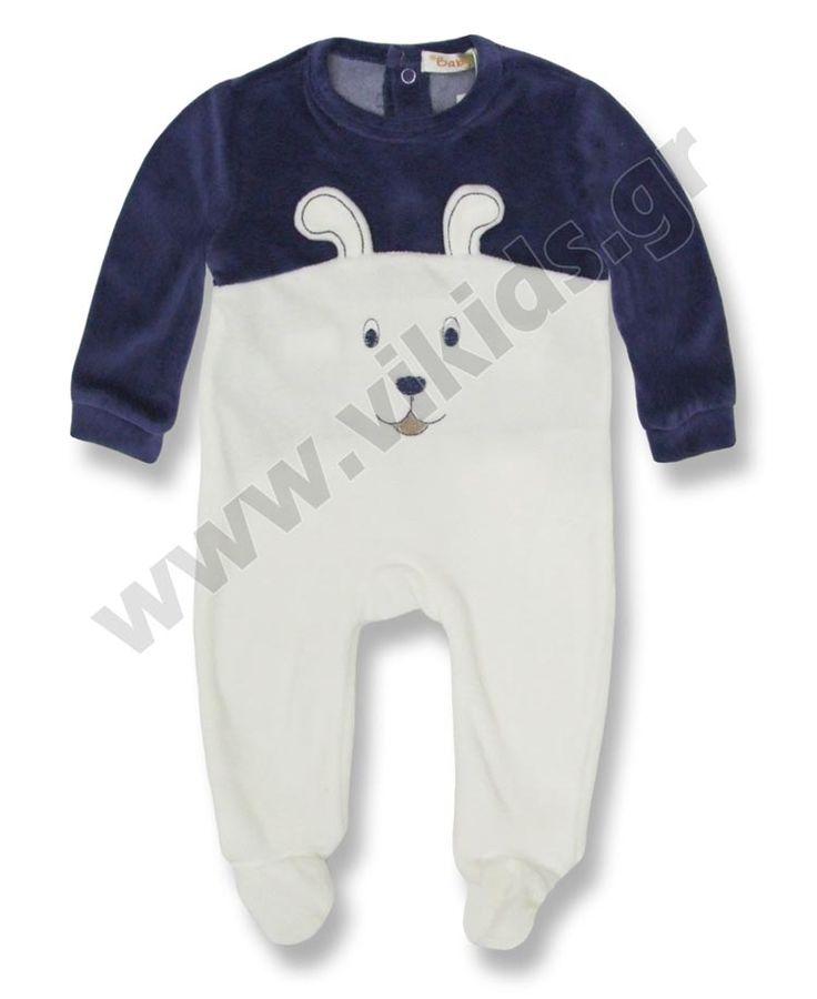 Ένα ποιοτικό βελουτέ φορμάκι για αγόρια 1-12 μηνών, από την Babybol.