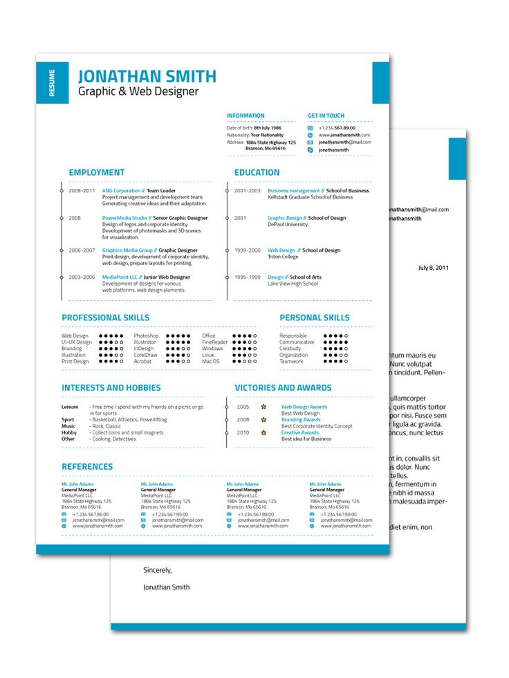 Yli tuhat ideaa Cv Original Word Pinterestissä - resume template ms word
