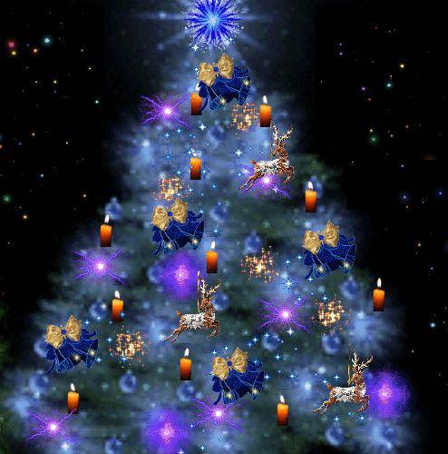 GIFS HERMOSOS: arbol navideños encontrados en la web