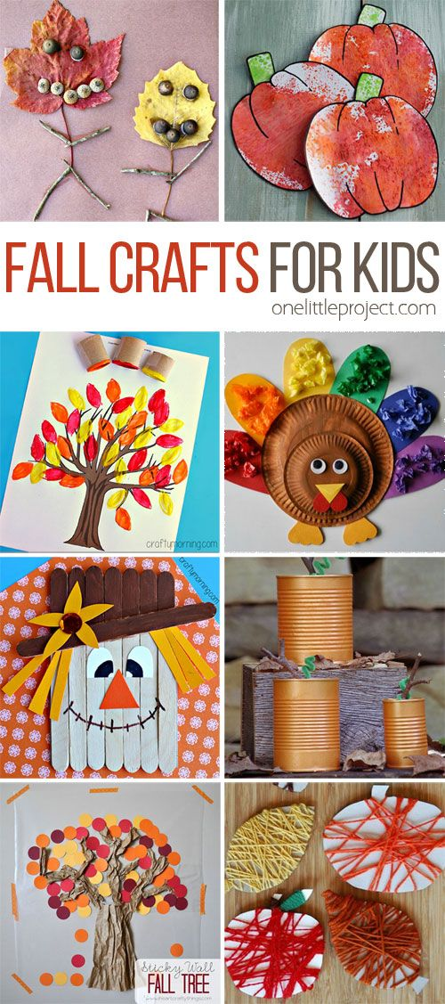 These fall crafts for kids are wonderful! I'm always amazed how creative people…