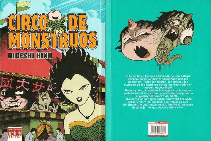Hideshi Hino Comics de terror  editorial La Cúpula
